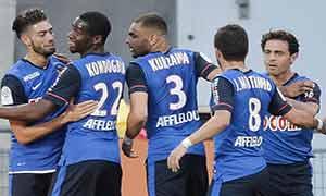 Lorient 0-1 AS Monaco
