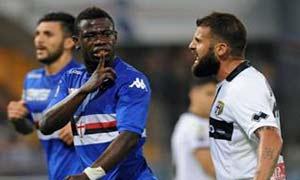 Sampdoria 2-2 Parma