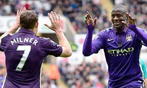 Swansea City 2-4 Manchester City