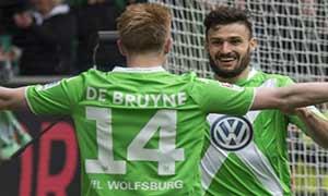 Wolfsburg 2-1 Borussia Dortmund