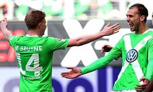 Wolfsburg 2-2 Hannover