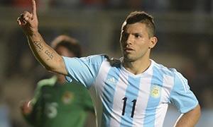 Argentina 5-0 Bolivia