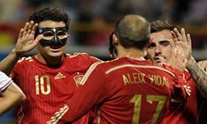 Spain 2-1 Costa Rica