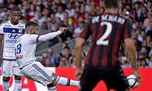 Lyon 2-1 AC Milan