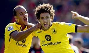 AFC Bournemouth 0-1 Aston Villa