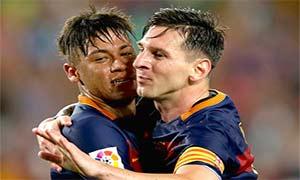 Barcelona 3-0 AS Roma