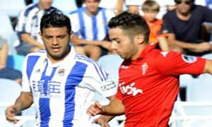 Real Sociedad 0-0 Sporting Gijon