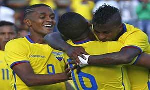Ecuador 2-0 Honduras