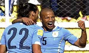 Bolivia 0-2 Uruguay