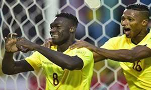 Ecuador 2-0 Bolivia