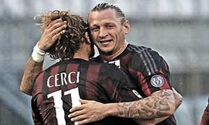 Monza 0-3 AC Milan