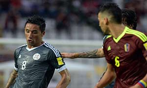 Venezuela 0-1 Paraguay
