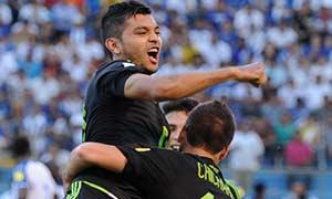Honduras 0-2 Mexico