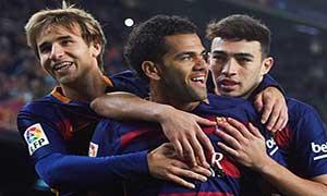 Barcelona 6-1 Villanovense