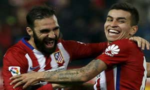 Atletico Madrid 3-0 Rayo Vallecano