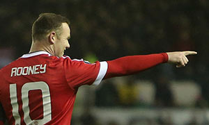 Derby County 1-3 Manchester United
