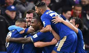 Leicester City 3-0 Stoke City