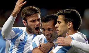 Malaga 2-0 Celta Vigo