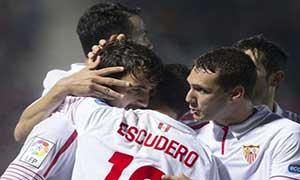 Mirandes 0-3 Sevilla