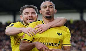 Oxford United 3-2 Swansea City