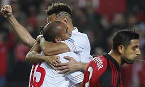 Sevilla 2-0 Mirandes