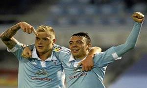 Celta Vigo 3-2 Eibar