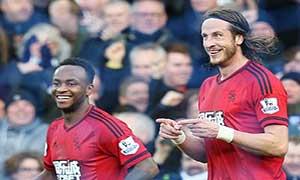 Everton 0-1 West Bromwich Albion