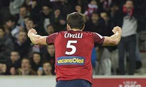 Lille 1-0 Lyon