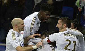 Lyon 3-0 Bordeaux