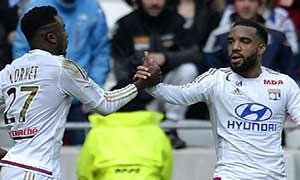 Lyon 4-1 Caen