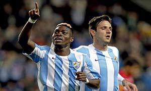 Malaga 3-0 Getafe