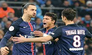 Marseille 1-2 Paris Saint-Germain