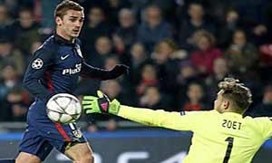 PSV Eindhoven 0-0 Atletico Madrid