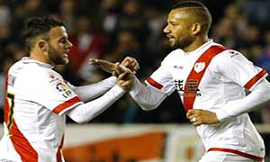 Rayo Vallecano 2-0 Las Palmas