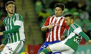 Real Betis 1-1 Sporting Gijon