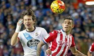 Sporting Gijon 1-1 Deportivo La Coruna