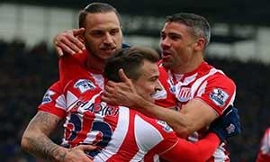 Stoke City 2-1 Aston Villa