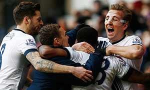 Tottenham Hotspur 2-1 Swansea City