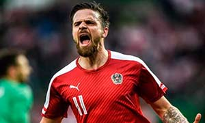 Austria 2-1 Albania