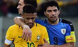 Brazil 2-2 Uruguay