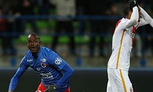 Caen 2-2 AS Monaco