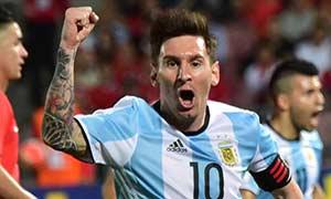 Chile 1-2 Argentina