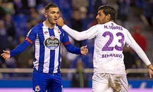 Deportivo La Coruna 3-3 Malaga