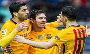 Eibar 0-4 Barcelona