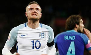 England 1-2 Netherlands