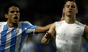 Malaga 1-0 Sporting Gijon