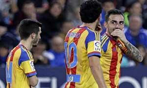 Malaga 1-2 Valencia