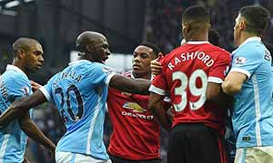 Manchester City 0-1 Manchester United