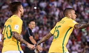 Paraguay 2-2 Brazil