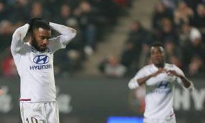 Rennes 2-2 Lyon